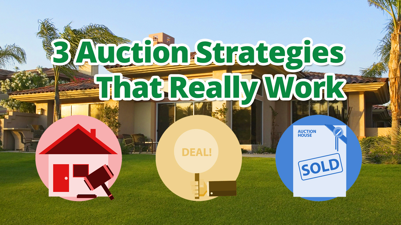 3 Auction Strategies That Really Work