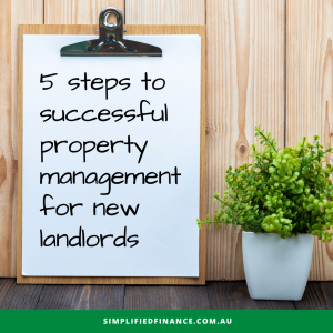 5 steps to successful property management for new landlords
