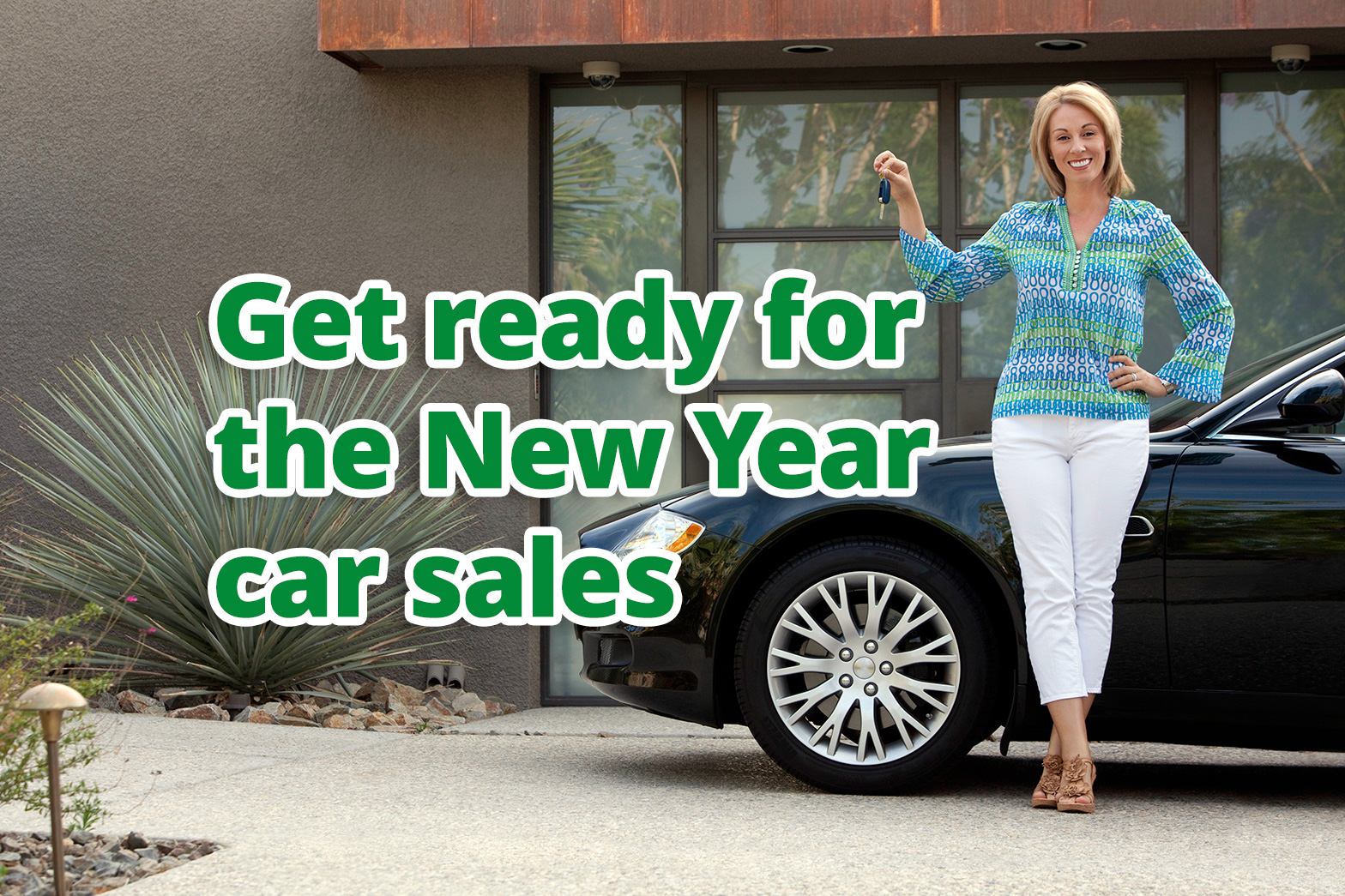 Get ready for the New Year car sales